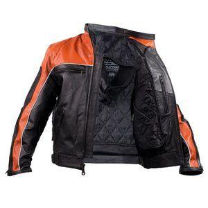 ✨Host Pick✨ RARE Motorcycle Men Leather Jacket